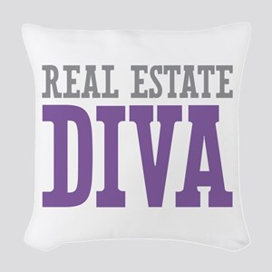 Real Estate DIVA Woven Throw Pillow