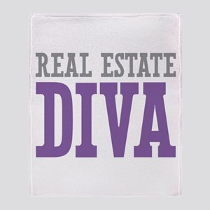Real Estate DIVA Throw Blanket