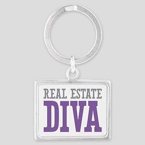 Real Estate DIVA Landscape Keychain