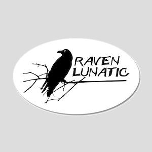 Raven Lunatic - Halloween Wall Decal