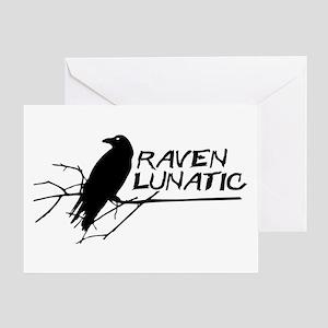 Raven Lunatic - Halloween Greeting Cards