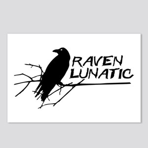 Raven Lunatic - Halloween Postcards (Package of 8)