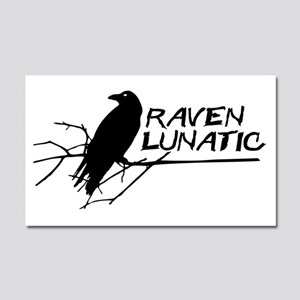 Raven Lunatic - Halloween Car Magnet 20 x 12