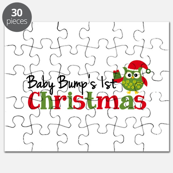 Baby Bump's 1st Christmas Owl Puzzle