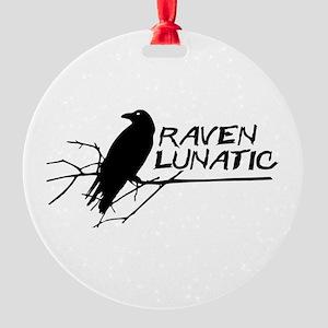 Raven Lunatic - Halloween Ornament