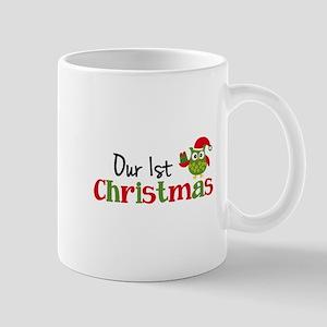 Our 1st Christmas Owl Mug