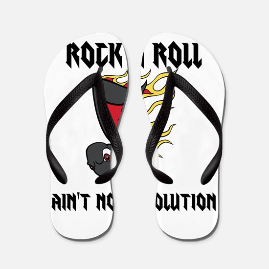 Rock n Roll Flip Flops