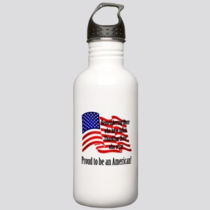 Proud to be an American Water Bottle