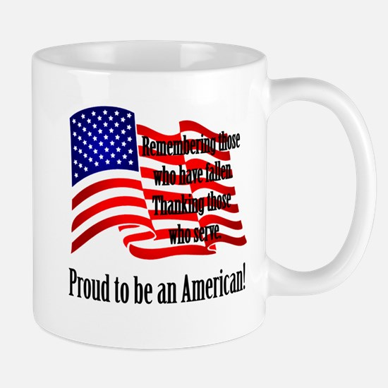 Proud to be an American Mugs