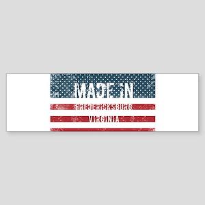 Made in Fredericksburg, Virginia Bumper Sticker