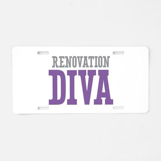 Renovation DIVA Aluminum License Plate