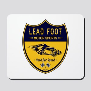 Lead Foot Hot Rod Mousepad
