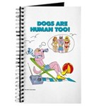 DOGS ARE HUMAN TOO! (b) Journal