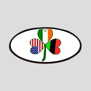 African American Shamrock Patches