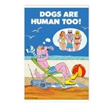DOGS ARE HUMAN TOO! (c) Postcards (8)