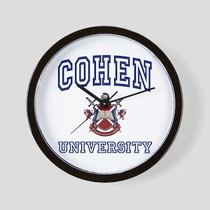 COHEN University Wall Clock