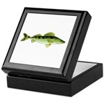 Zander pike perch Keepsake Box