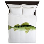 Zander pike perch Queen Duvet