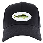 Zander pike perch c Baseball Hat