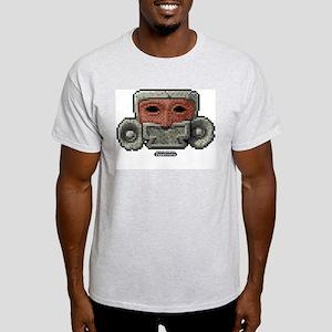Aztec Mask Ash Grey T-Shirt