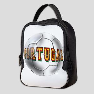 Portugal Football Neoprene Lunch Bag