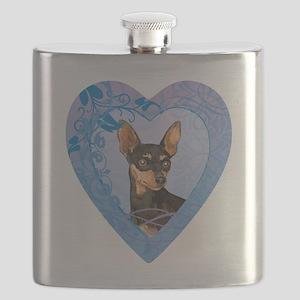 minpin-heart Flask