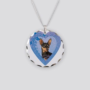 minpin-heart Necklace Circle Charm