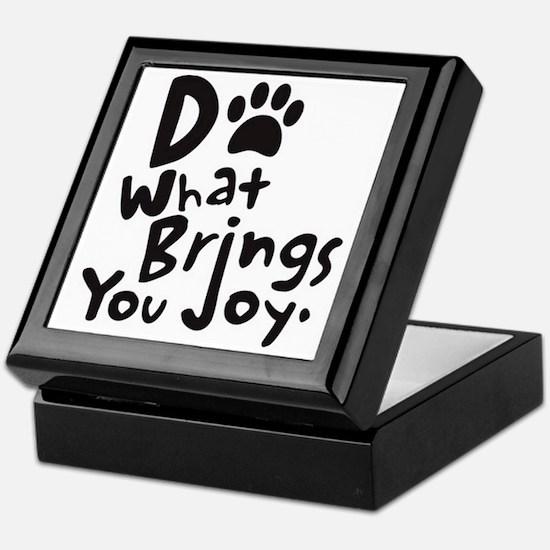 Do What Brings You Joy Keepsake Box