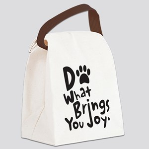 Do What Brings You Joy Canvas Lunch Bag