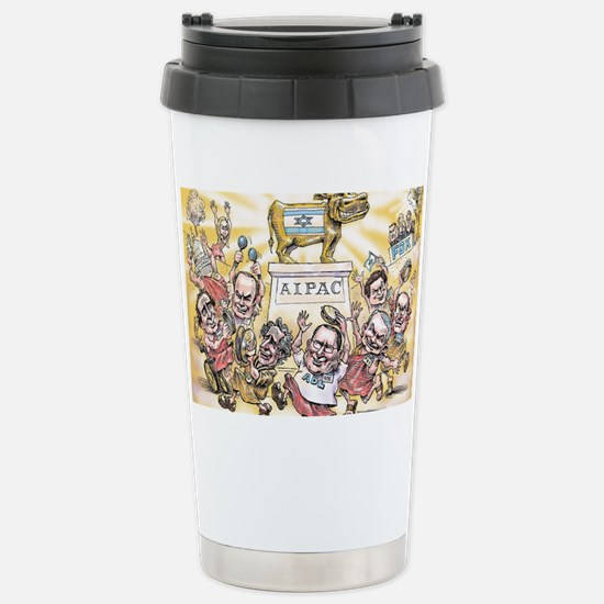 Golden Calf AIPAC Stainless Steel Travel Mug