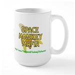 Space Monkey Mafia Large Mug