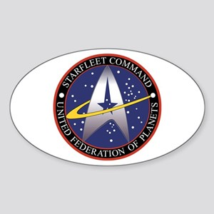 STAR TREK SFC-UFP Sticker (Oval)