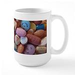Pile Of Pills Large Mugs