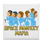 Space Monkey Mafia Tile Coaster