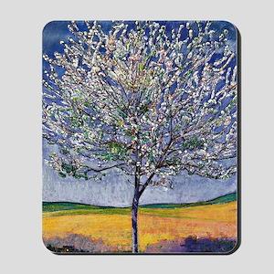 Cherry Tree in Bloom, painting by Ferdin Mousepad