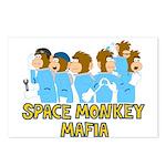 Space Monkey Mafia Postcards (Package of 8)