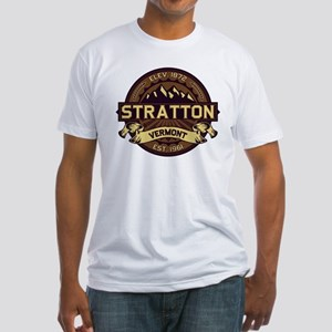 Stratton Sepia Fitted T-Shirt