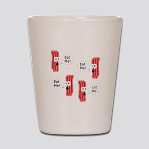 Eat Me Bacon Shot Glass
