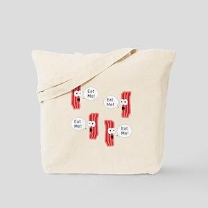 Eat Me Bacon Tote Bag