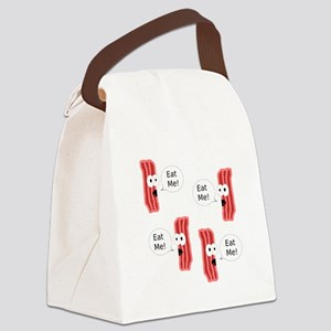 Eat Me Bacon Canvas Lunch Bag