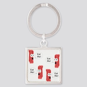 Eat Me Bacon Keychains