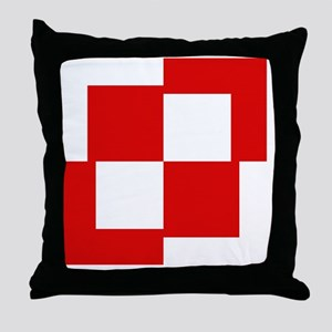 7x7-Szachownica-till1993 Throw Pillow