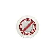 MefloquineLogo Mini Button (100 pack)