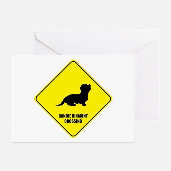 Dandie Crossing Greeting Cards (Pk of 10)