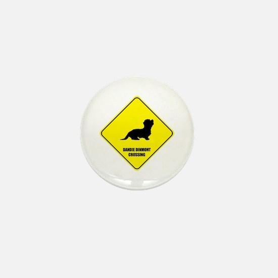 Dandie Crossing Mini Button