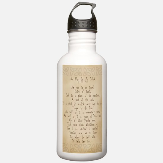 For Whom the Bell Toll Water Bottle