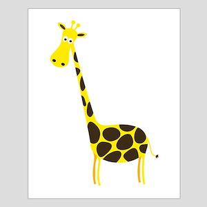 Cartoon Giraffe Posters