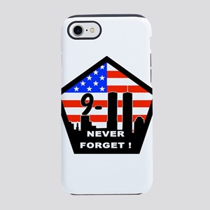 911 never forget iPhone 7 Tough Case