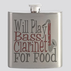 Will Play Bass Clarinet Flask