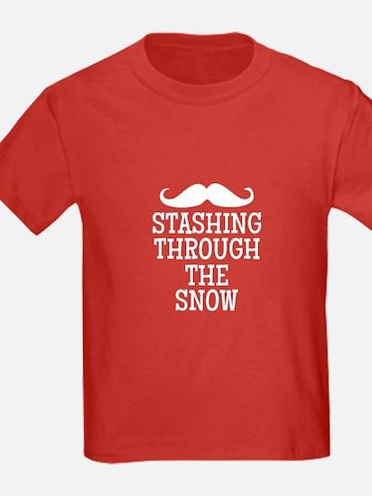 STASHING thru the snow T-Shirt